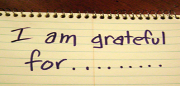 Being-grateful